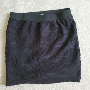 Candies black stretchy skirt